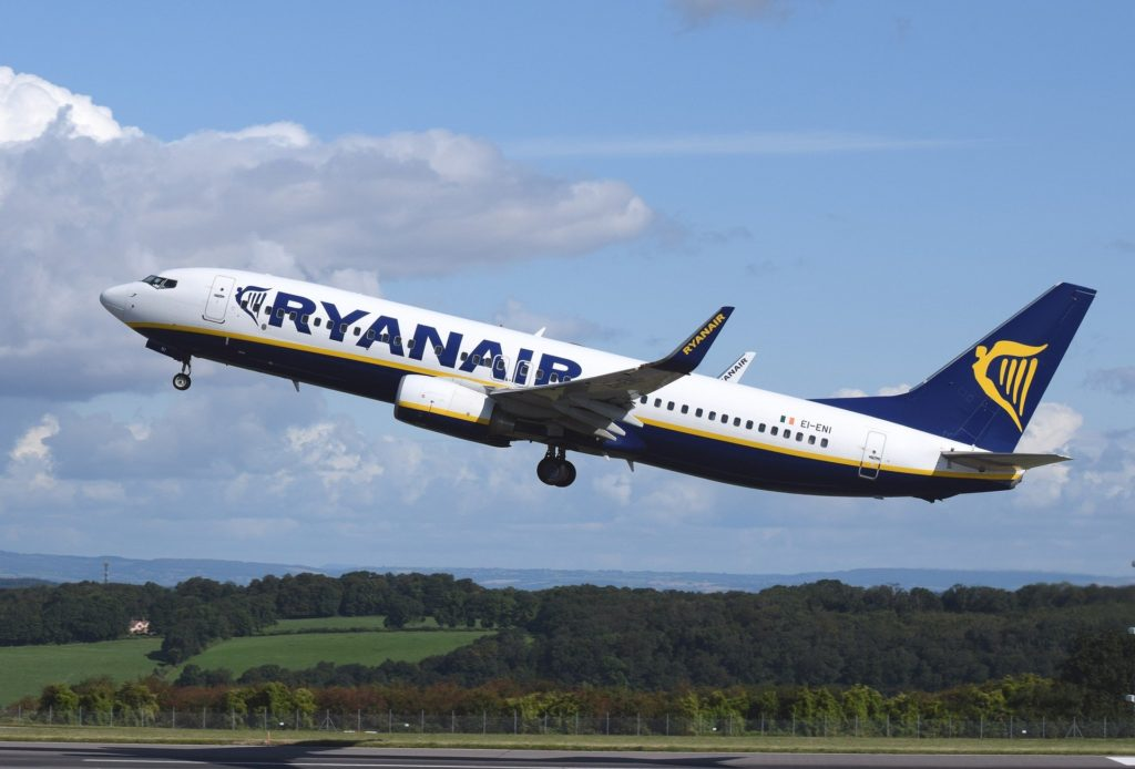 40% of Ryanair flights will return to the sky on July 1.