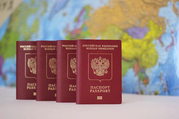 Можно ли сейчас попасть в Евросоюз? _passport of the Russian Federation