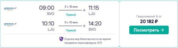 въезд в Словению для россиян 2021_авиабилеты в Словению_2