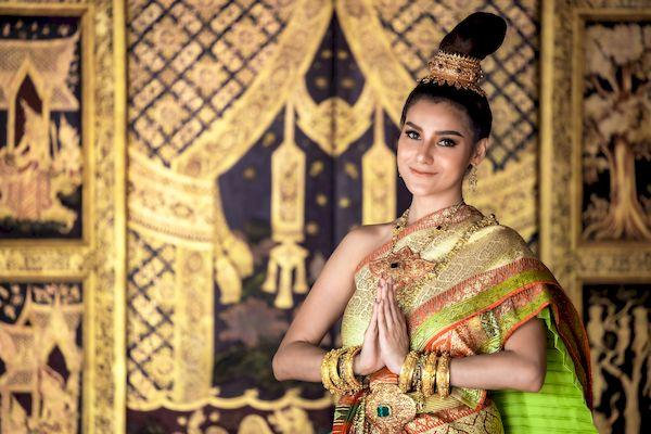 Открытие Таиланда - 2021_thai girl lady traditional culture thai costume