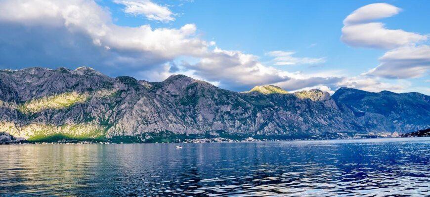 Черногория_beautiful landscape perast historic town shore boka kotor