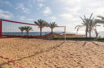 спрос на туры в Турцию туры в Египет _hotel sharm el sheikh egypt view from volleyball court