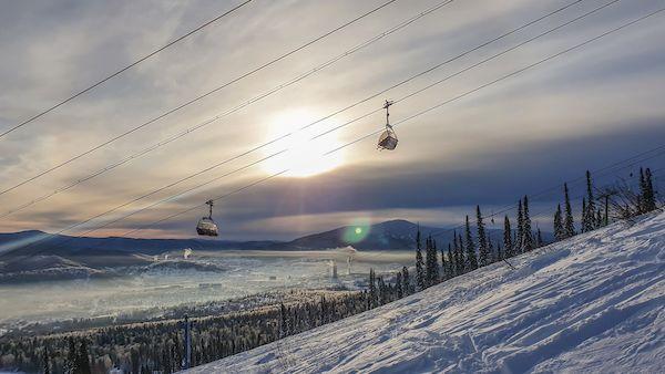 Туры Шерегеш из Москвы _sheregesh ski resort mountains