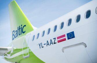 Air Baltic в Грузию _airbaltic aircraft 22