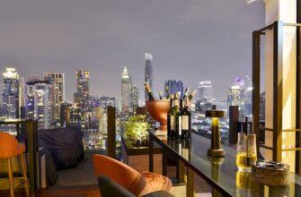 полететь в Таиланд _bangkok city view point from rooftop bar overlooking magnificentcityscape