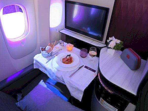 въезд в Катар Qatar Airways Qsuite _Business_Class